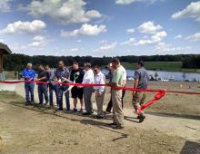 Bullfrog Lake Camp Ribbon Cutting Ceremony